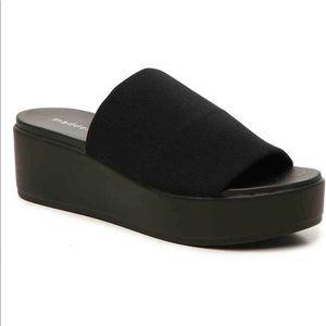 Steve Madden Platform Slip On Sandals